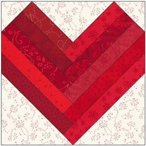 Log Cabin Layouts Star Center Log Cabin Quilt Block Pattern Download The