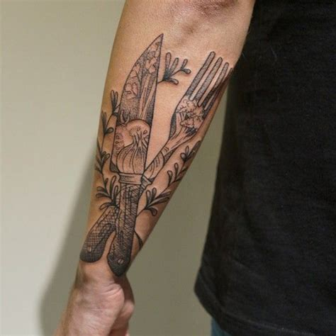 xavier tattoo designs 16 cook tattoos to be the chef in your kitchen