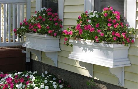 How To Build A Window Box Planter by Window Boxes That Will Add Color And Curb Appeal