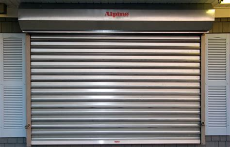 alpine overhead doors roll up steel door roller grilles rolling grille doors