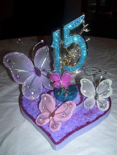 adorno de quince en mariposa centros de mesa para 15 a 241 os una decoraci 243 n preciosa
