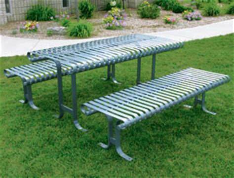 belson outdoors benches belson commercial picnic tables metal steel table has
