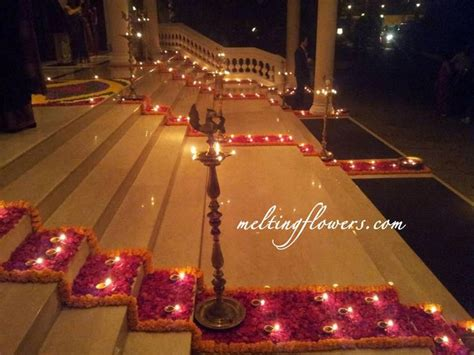 sparkling ideas for pathway decorations of wedding venue