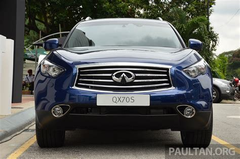 infiniti qx 37 infiniti qx70s sport package now available rm500k image