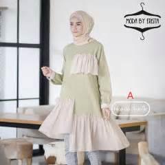 Gamis Rafanda adrien a baju muslim gamis modern