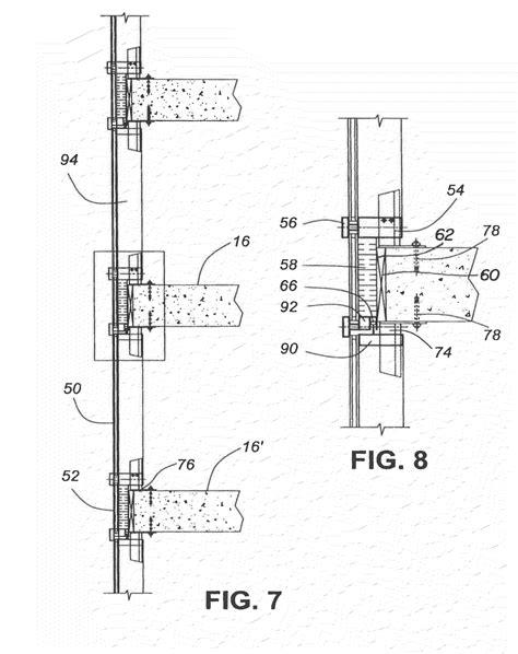 Patent Us7827746 Hybrid Window Wall Curtain Wall System