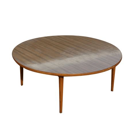 Circular Coffee Table Vintage Mid Century Wood Coffee Table Mr11465 Ebay