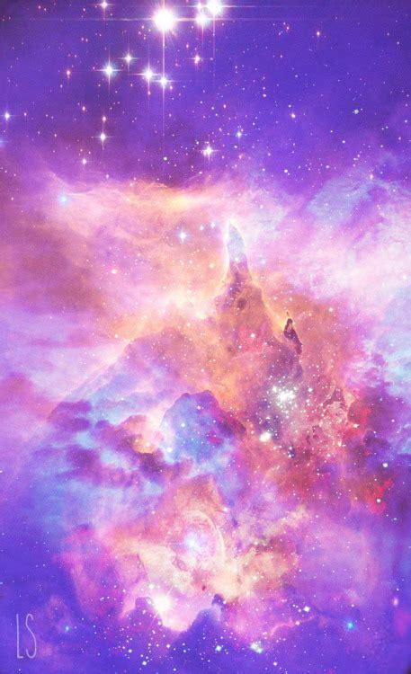 galaxy wallpaper kawaii art cute japan kawaii edit space galaxy nebula blue purple