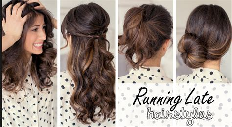 these are some easy hairstyles for school or running late hairstyles for work or school easy hacks