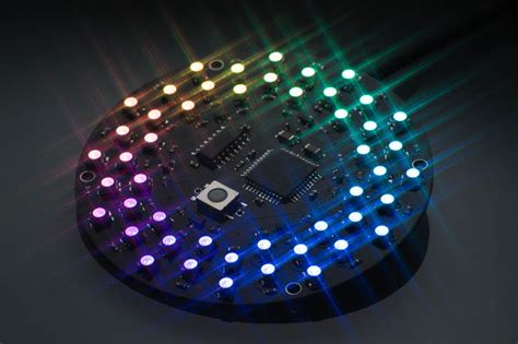 Pcb Led Toso Bulat 33 Led 68 Mm 187 rgb led the led artist