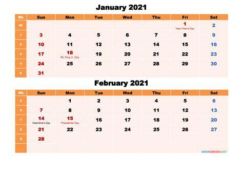 calendar  january  february  word