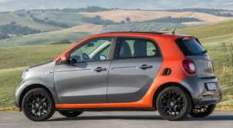 Electric Smart Car Australia Smart Forfour Electric Drive Coming In 2016
