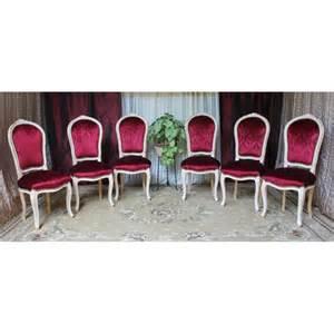 lot 6 chaises cabriolet style louis xv 224 954 00 avec