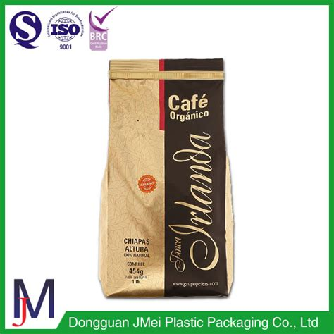 Coffee Bag Flat Bottom Valve Zipper Uk 7 5x18x3 Cm coffee bean valve bellows pocket customized wholesale