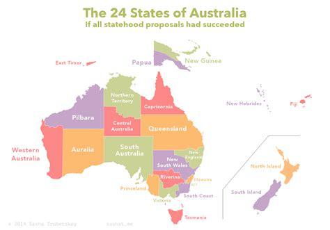 map australian states proposed australian states trubetskoy