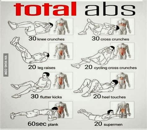 interesting total abs ideas and daily routines