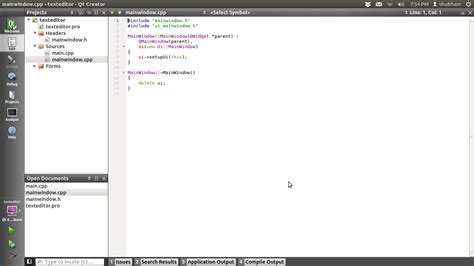 qt tutorial text editor how to create a basic text editor in qt c development