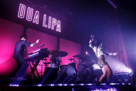 dua lipa on stage live music electropop idol dua lipa at the o2 ritz