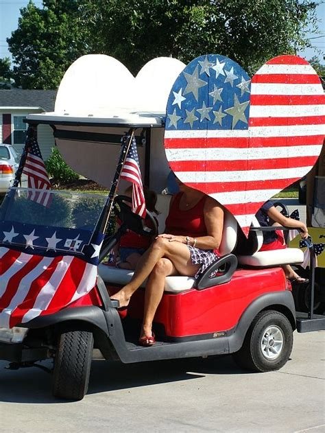 Golf Carts Decorated For by 4th Of July Golf Cart Decorating Ideas Yahoo Search