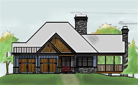 one story cottage style house plans single story cabin cathedral ceiling joy studio design gallery best design