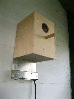 cassette nido stufetta per ornitologia falegnameria serena