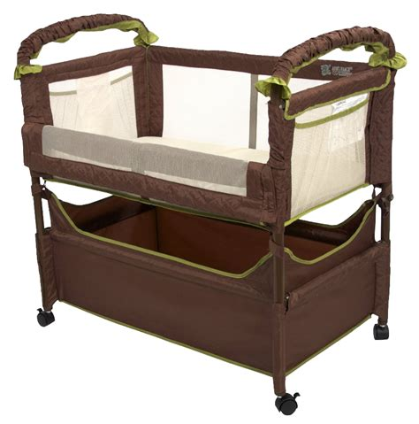 bed attached crib best co sleeper crib baby bassinet attaches to bed