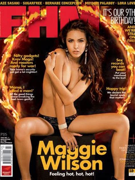 Snny Top Ax more fhm photos of margaret maggie wilson mind
