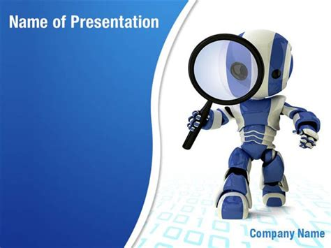 robot model powerpoint templates robot model powerpoint