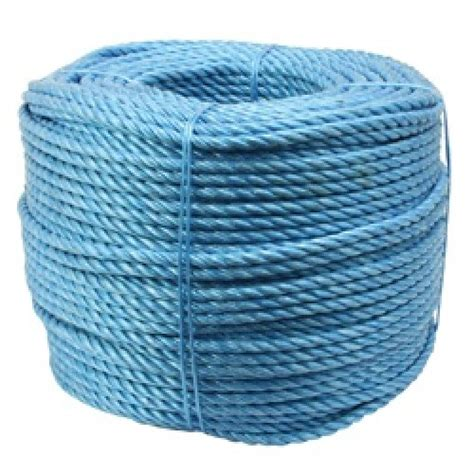 6mm Polypropylene Rope - blue polypropylene rope 6mm x 220m manchester safety service