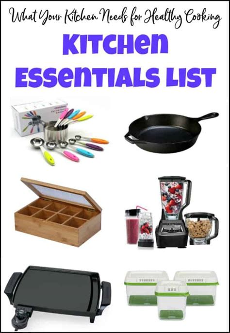 Kitchen Necessities by What Your Kitchen Needs For Healthy Cooking Kitchen