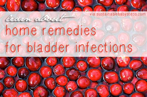 complete uti and bladder infection home remedy regimen