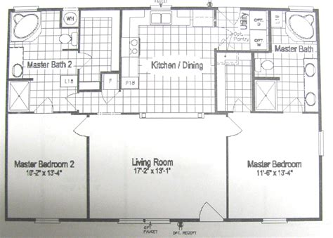 2 master bedroom homes floor plans smart cash homes