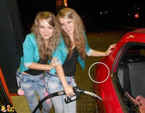 foto divertenti donne al volante donne al rifornimento immagini divertenti