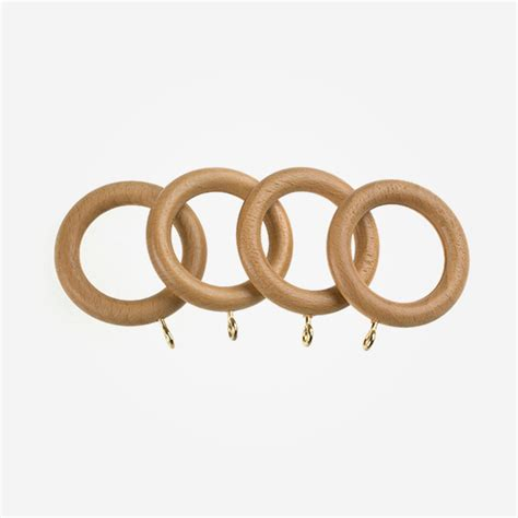 pine curtain rings rings for 55mm portofino antique pine curtain pole poles