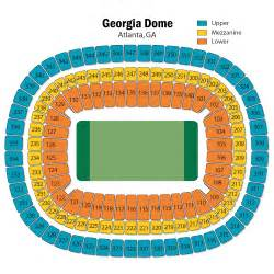 map of dome seating hbcu all bowl december 18 tickets atlanta
