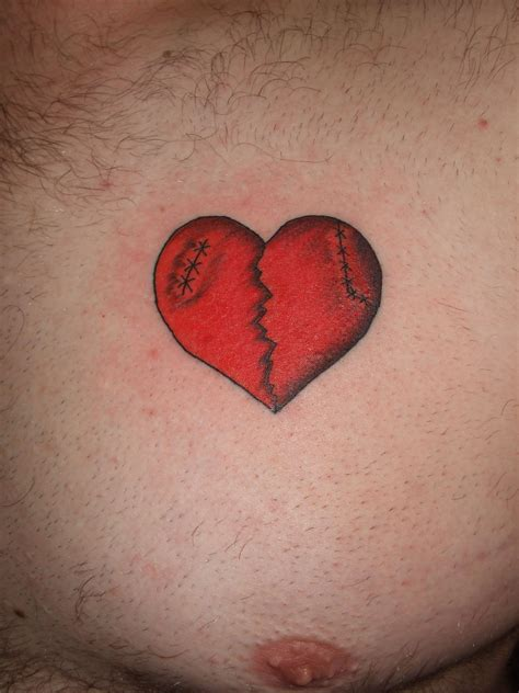 small broken heart tattoos broken designs image and save image as click