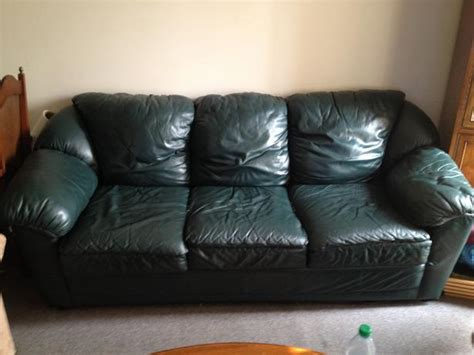 dark green leather couch dark green leather couch west shore langford colwood