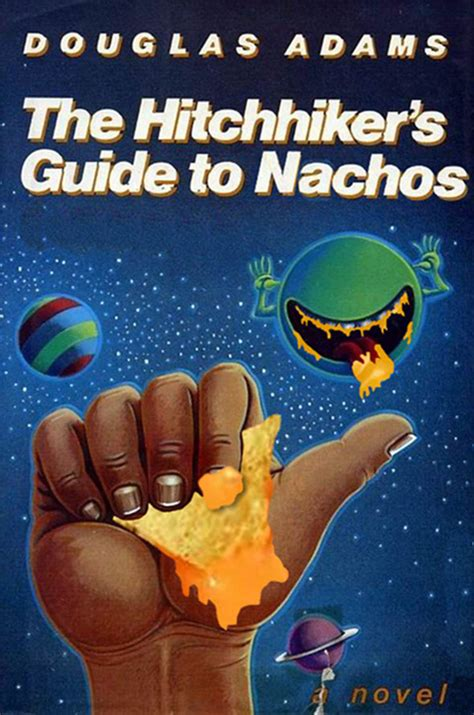 famous books famous book covers but with nachos foodiggity