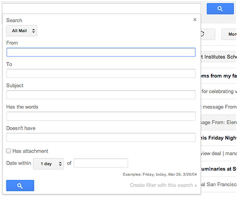 Search Gmail Users By Email Search In Gmail Gmail Help