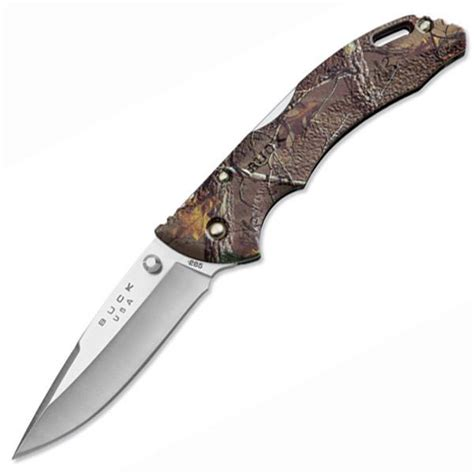 camo pocket knives buck knives bantam plain single blade pocket knife