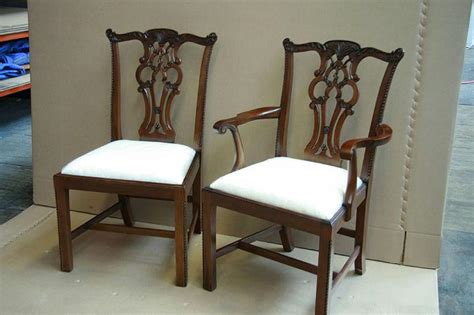 Chippendale Dining Room Furniture Chippendale Solid Mahogany Leg Dining Room Chairs Sullevin