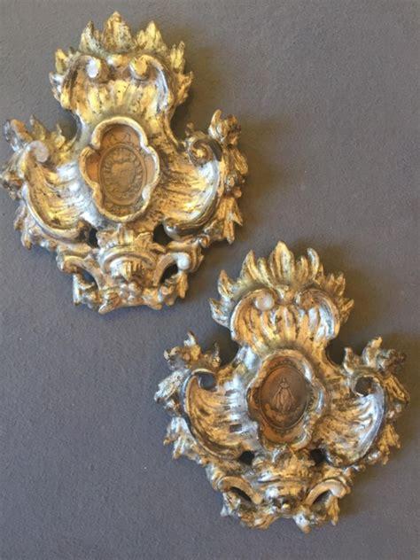cornici argentate coppia di cornici argentate a mecca xviii sec