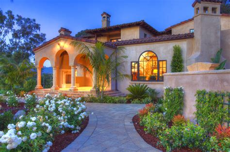 Tuscan Home Exterior Colors - tuscan home mediterranean exterior san diego by architect mark d lyon inc