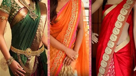 neat saree draping 3 different ways of wearing saree to look slim with
