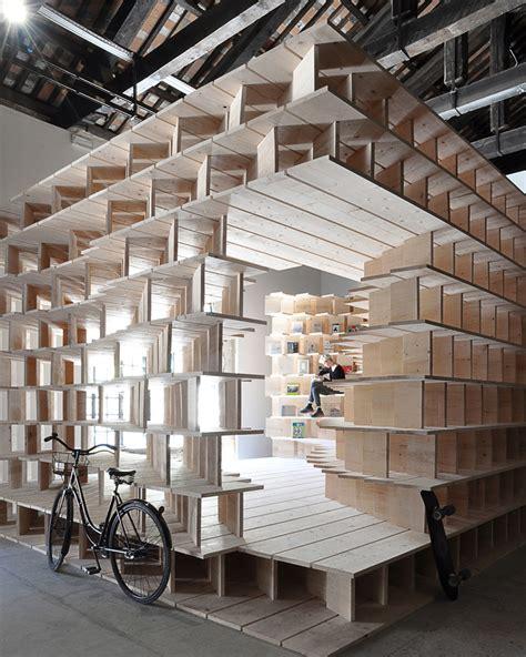 pavillon kunst venice architecture biennale slovenian pavilion