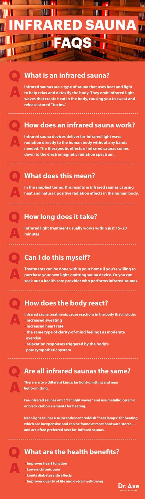 Doctor Detox Infrared by Infrared Sauna Treatment Are The Claims Backed Up Dr Axe