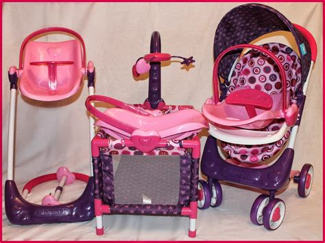 Baby Doll Stroller Crib And Highchair by Hauck 2 Baby Doll Set Thrifty Nifty
