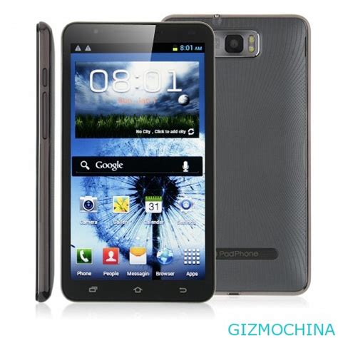 largest android phone n9776 the android phone worldwide gizmochina