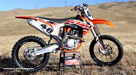 2015 Ktm 450sxf Ride 2015 Ktm 450sxf Motocross Magazine