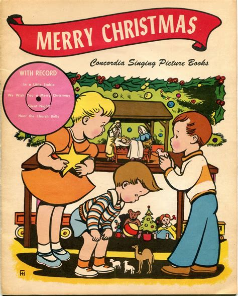 possibly wont hear anyplace  merry christmas concordia singing picture book